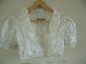 Folkloristische blouse wit Katoen