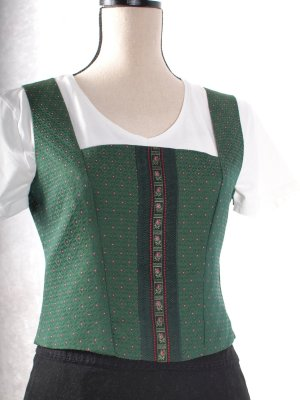 Sportalm Traditional Vest forest green polyester