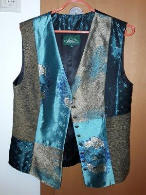 Alpin de luxe Traditional Vest multicolored