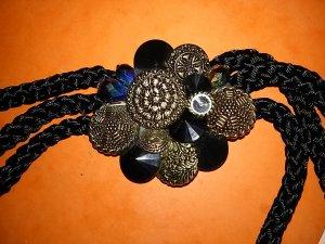 Colliers ras du cou multicolore tissu mixte