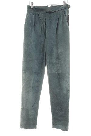 Pantalon bavarois vert foncé style campagnard