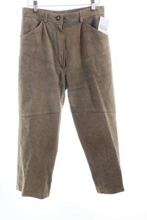 Pantalon bavarois gris vert style campagnard