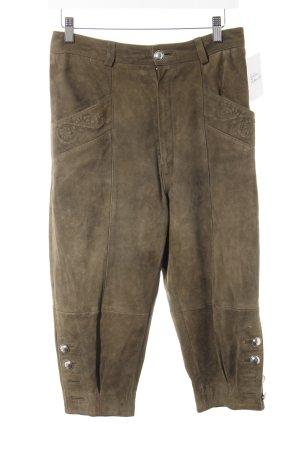 Pantalon bavarois kaki style décontracté