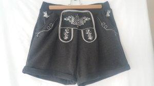 Gina Pantalon bavarois gris coton