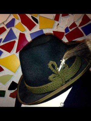 Cappello da caccia verde scuro