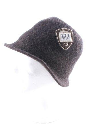 Cappello tradizionale marrone scuro stile casual