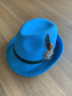Traditional Hat cornflower blue