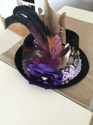 Trachtenhut neu in lila - Unikat-