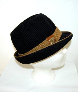 Geiger Chapeau bavarois noir-chameau laine
