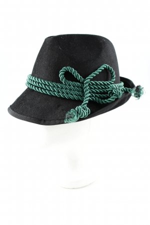 Traditional Hat black-forest green simple style