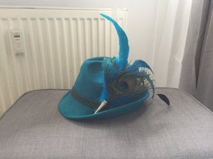 Traditional Hat turquoise