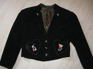 Trachtenjacke aus Leder
