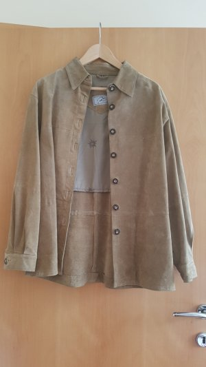 Traditional Jacket light brown leather