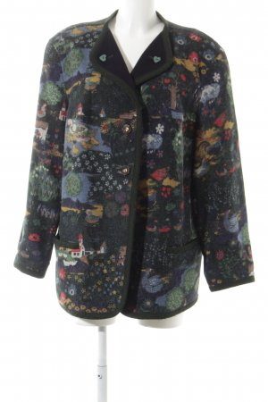 Trachtenjacke florales Muster Country-Look