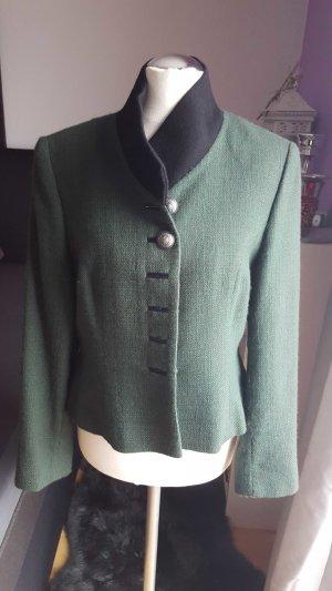 Giacca tradizionale nero-verde scuro