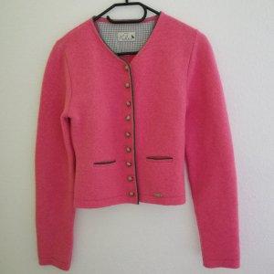 Huber Giacca di lana rosa Tessuto misto