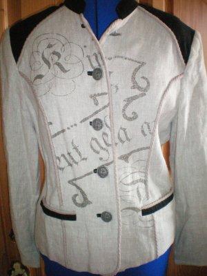 Spieth & Wensky Traditional Jacket oatmeal linen