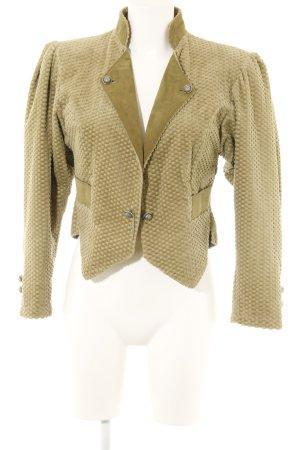 Traditional Jacket olive green elegant