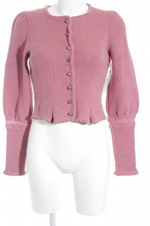 Trachtenjacke rosa klassischer Stil