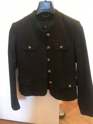 K & K Kaiserjäger Traditional Jacket anthracite-forest green