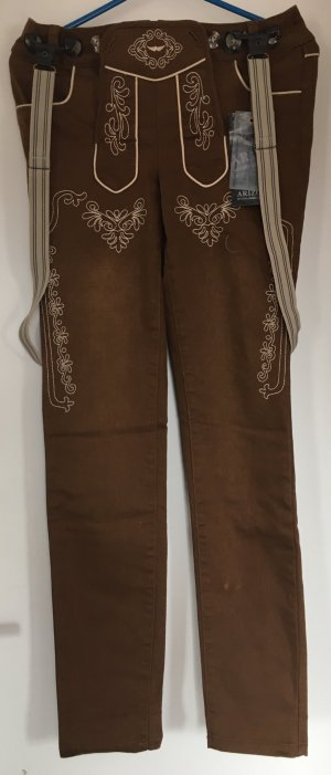Arizona Traditional Trousers cognac-coloured-brown