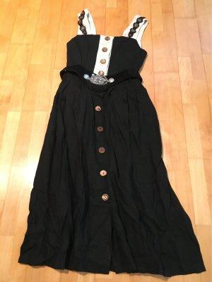 Traditional Skirt black-cream