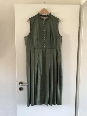 Dirndl verde-grigio-cachi