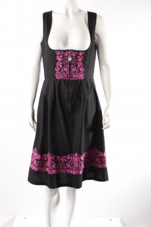 Trachtenmoden Riehl Dirndl to include black-purple