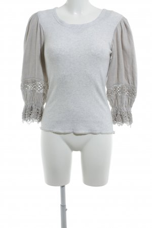 Traditional Jumper light grey-oatmeal classic style