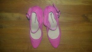 Trachtenpumps / Heels pink