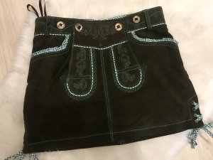 Lekra Traditional Skirt brown-forest green