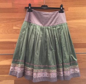 Traditional Skirt pink-pale green