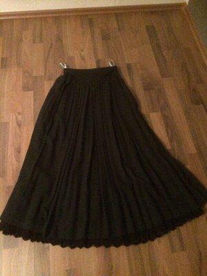 Perry Landhaus Jupe bavaroise noir tissu mixte