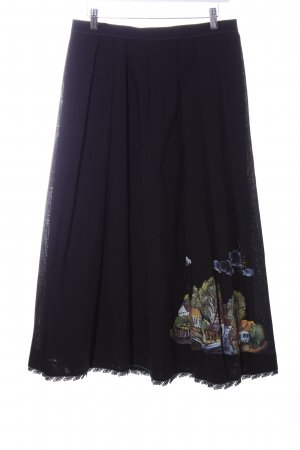 Traditional Skirt multicolored extravagant style