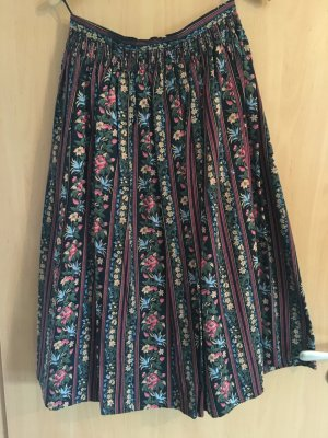 Traditional Skirt multicolored cotton