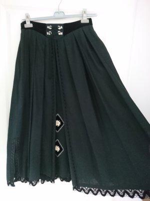 Perry Landhaus Traditional Skirt black linen
