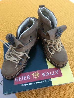 Geier Wally Lace Shoes multicolored suede