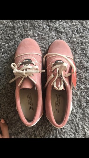 Lace Shoes light pink-pink