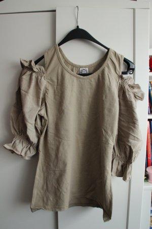 Maglione tradizionale marrone chiaro Cotone