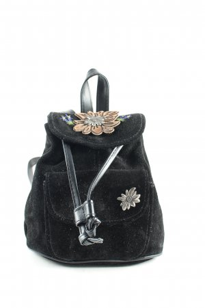 Traditional Bag black romantic style