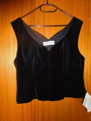 Helene Straßer Traditional Vest black cotton