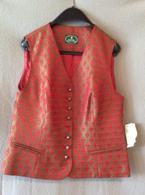 Traditional Vest multicolored polyester