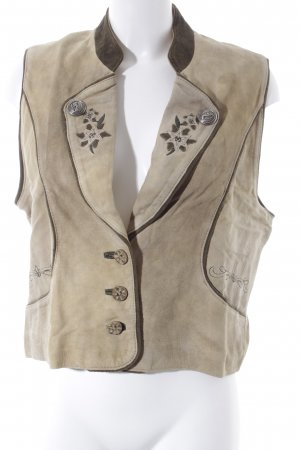 Traditional Vest sand brown-grey brown vintage products