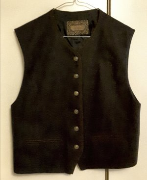 Hammer Traditional Vest dark blue-taupe wool