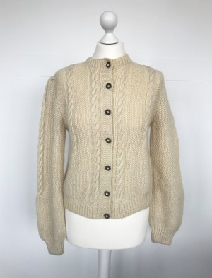 Traditional Vest natural white new wool