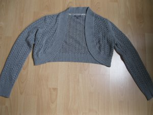 Street One Short Sleeve Knitted Jacket grey