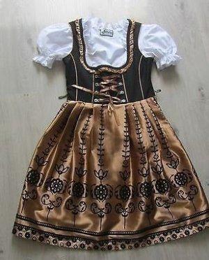 Traditionelles Lifos Dirndl Madl Trachtenkleid mit Bluse und Schürze