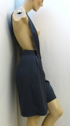 Culotte Skirt anthracite mixture fibre