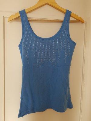 FB Sister Basic topje korenblauw
