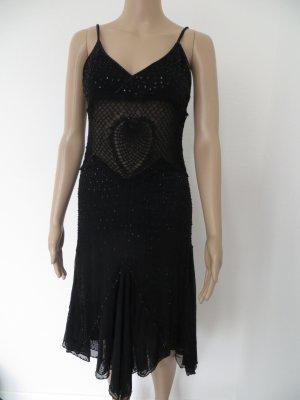 Trägerkleid, Abendkleid, Abi, Ball, Konfirmation, Schwarz, Damen Gr. 36